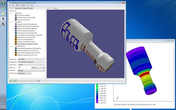 SonoAnalyzer Pro - easy-to-use and powerful finite element analysis for ultrasonic horn design and analysis